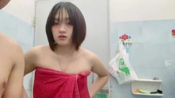 ไทย xxx เย็ดในห้องน้ำ เย็ดสาวผมสั้น เย็ดวัยรุ่นไทย เย็ดท่าหมา เย็ดท่าด๊อกกี้ สไตล์ เย็ดจิ๋ม เย็ดก่อนอาบน้ำ หีไม่มีขน หีไทย